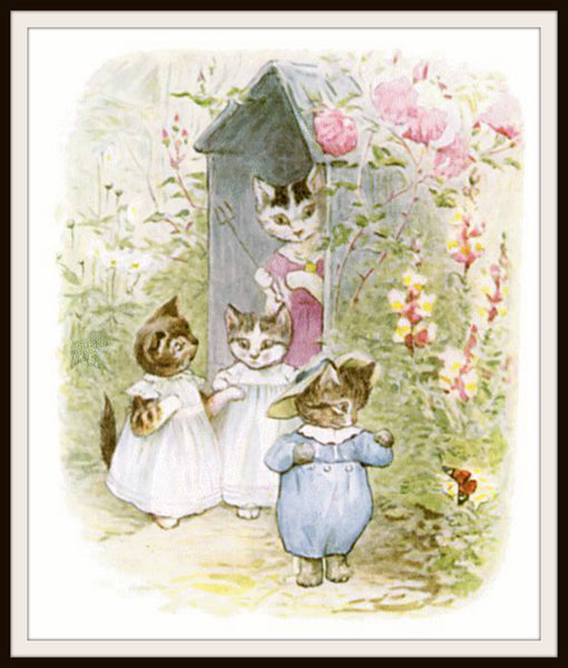 Beatrix Potter Peter Rabbit And Friends Set Of 4 Art