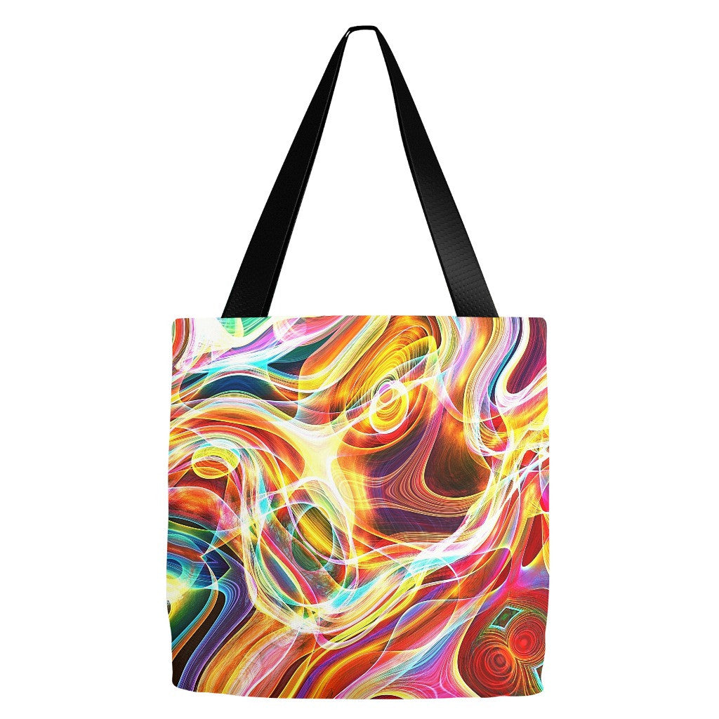 Abstract Pattern Tote Bag 18 x 18""
