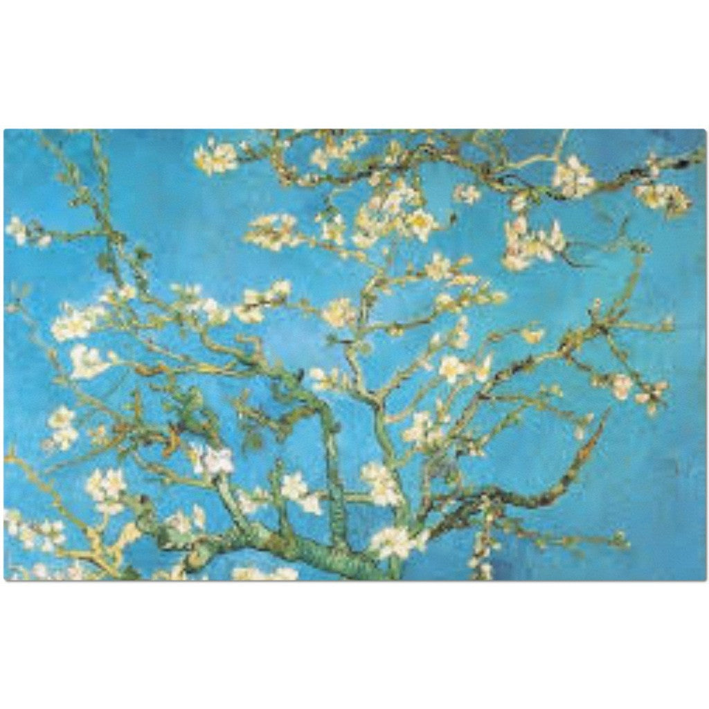 Laminated Van Gogh Almond Branches Placemat 11 x 17""