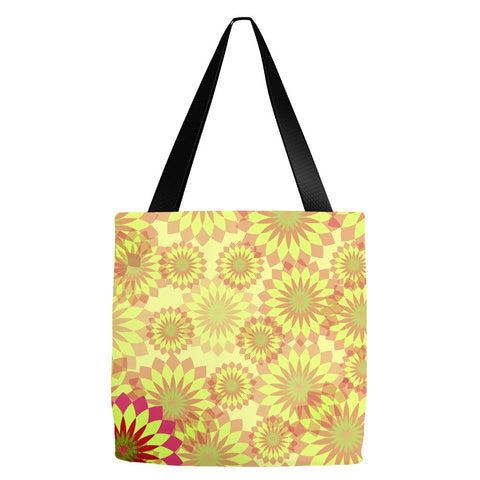 Yellow Tote Bag 18 x 18""