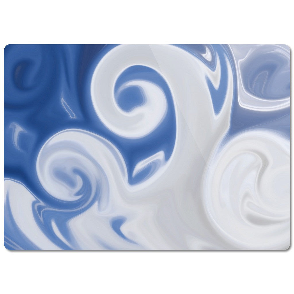 "Glass Cutting Board ""Abstract Clouds"""
