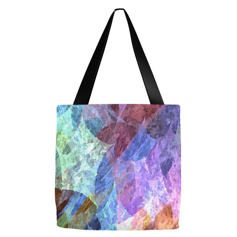 Abstract Print Tote Bag