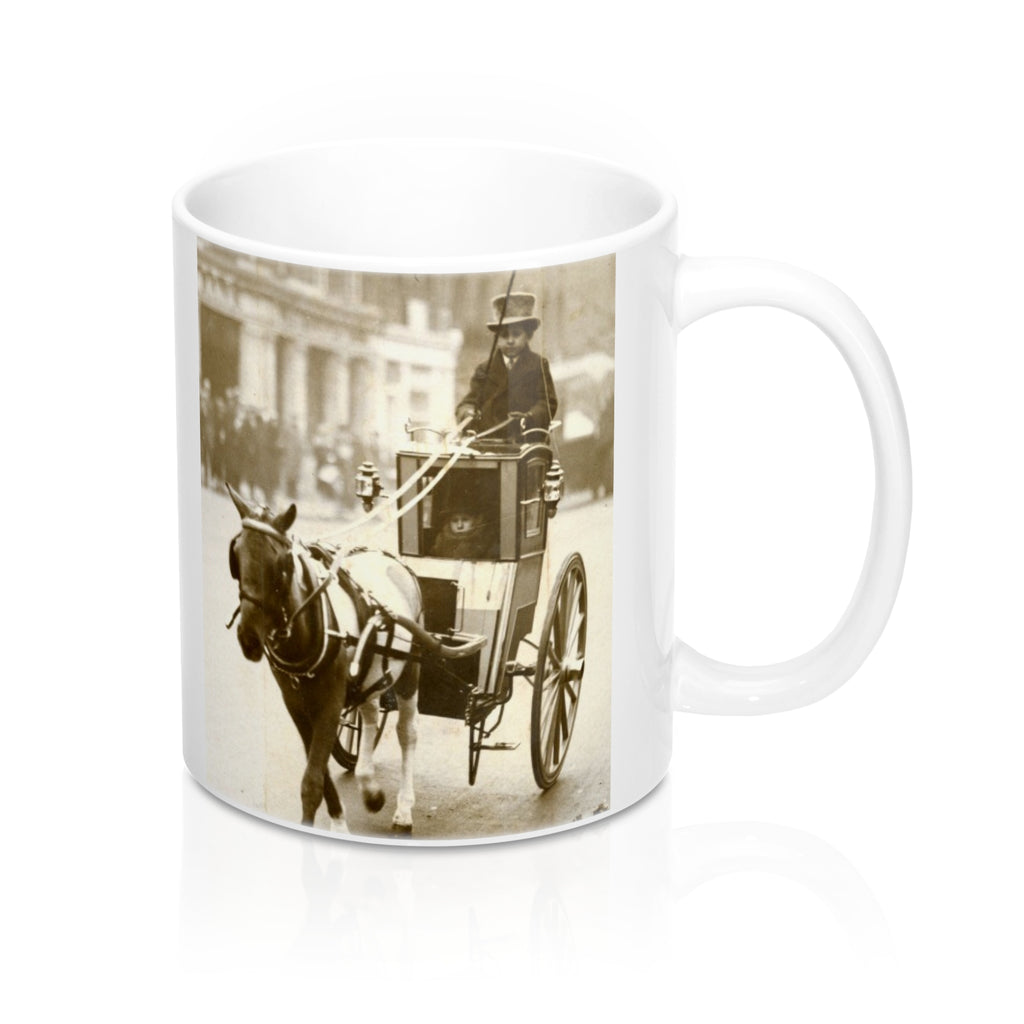 Vintage Horse and Carriage Mug 11oz
