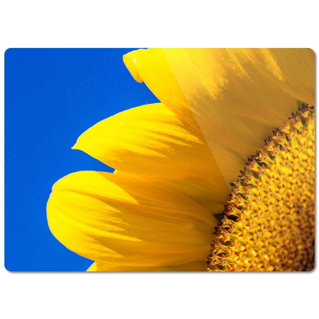 "Glass Cutting Board ""Sunflower"""