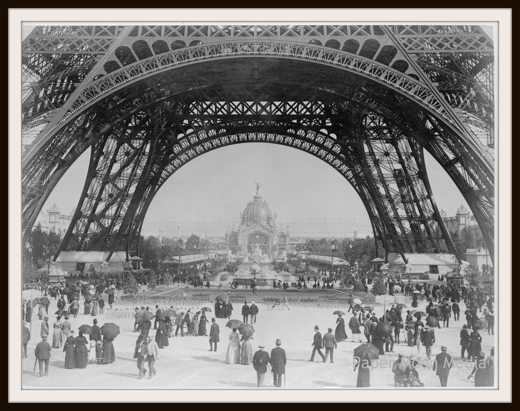 "Photograph Wall Decor  ""Eiffel Tower""  8 x 10 Photo Print  Unframed"