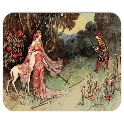 Vintage Fairy Tale Art Mousepad