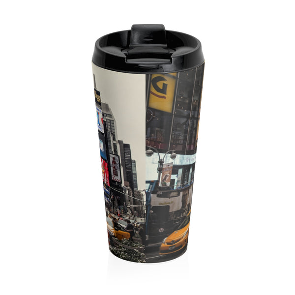 New York City Photo Stainless Steel Travel Mug