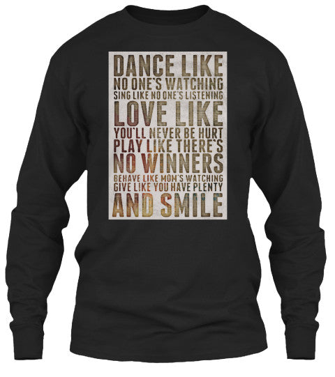 Dance Like No One's Watching Tee Shirt
