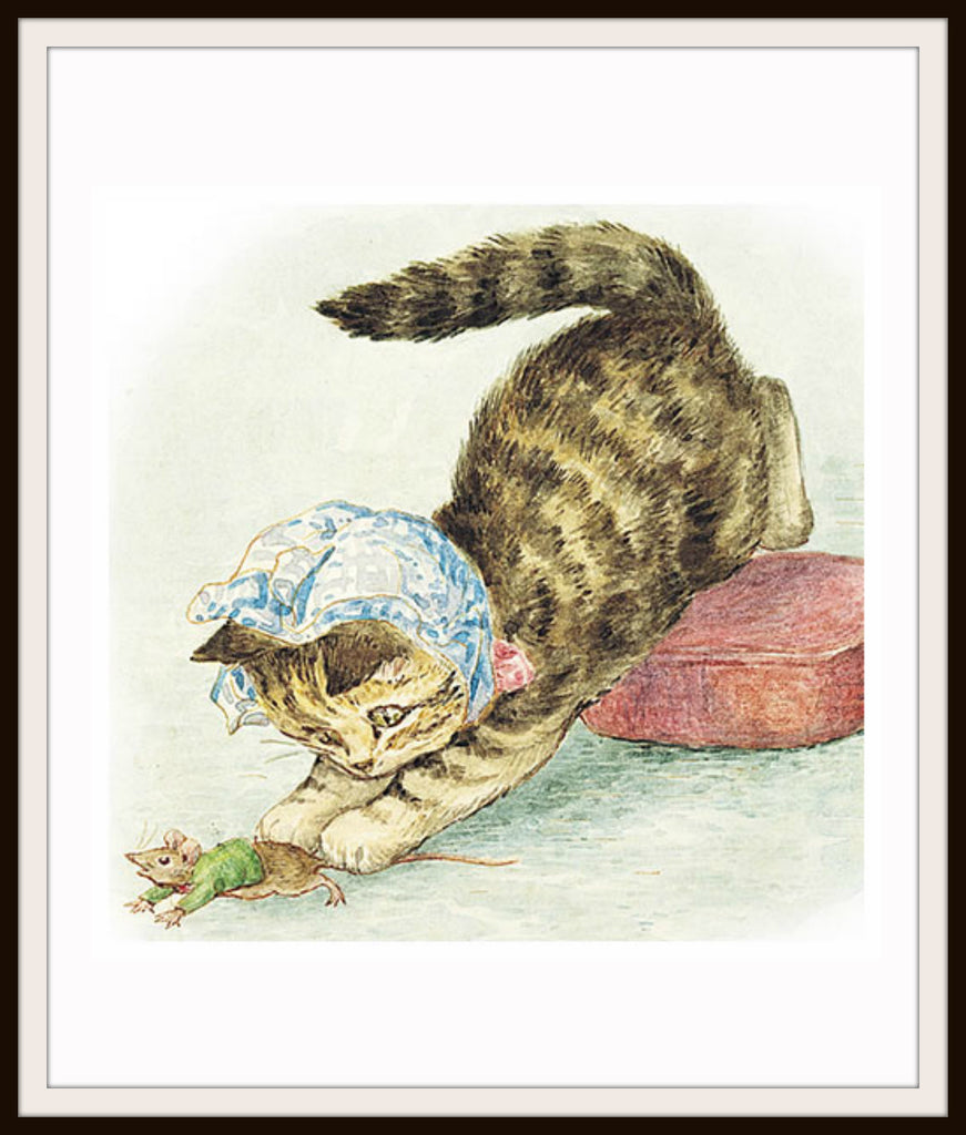 Miss Moppet by Beatrix Potter Art Print 8 x 10""