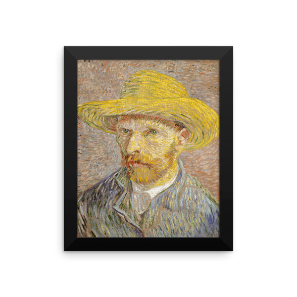 Vincent Van Gogh Self Portrait Reprodcution Framed poster