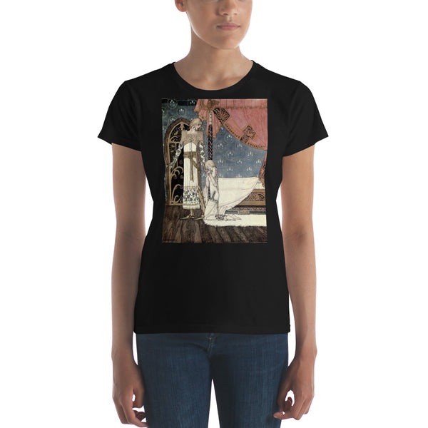East of the Sun West of the Moon by Kay Nielsen Women's short sleeve t-shirt
