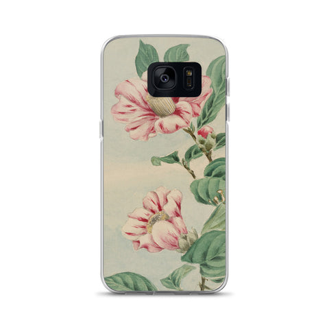 Asian Flowers Samsung Case