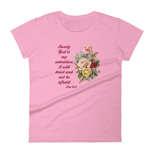 Scripture Quote Women's short sleeve Tee Shirt