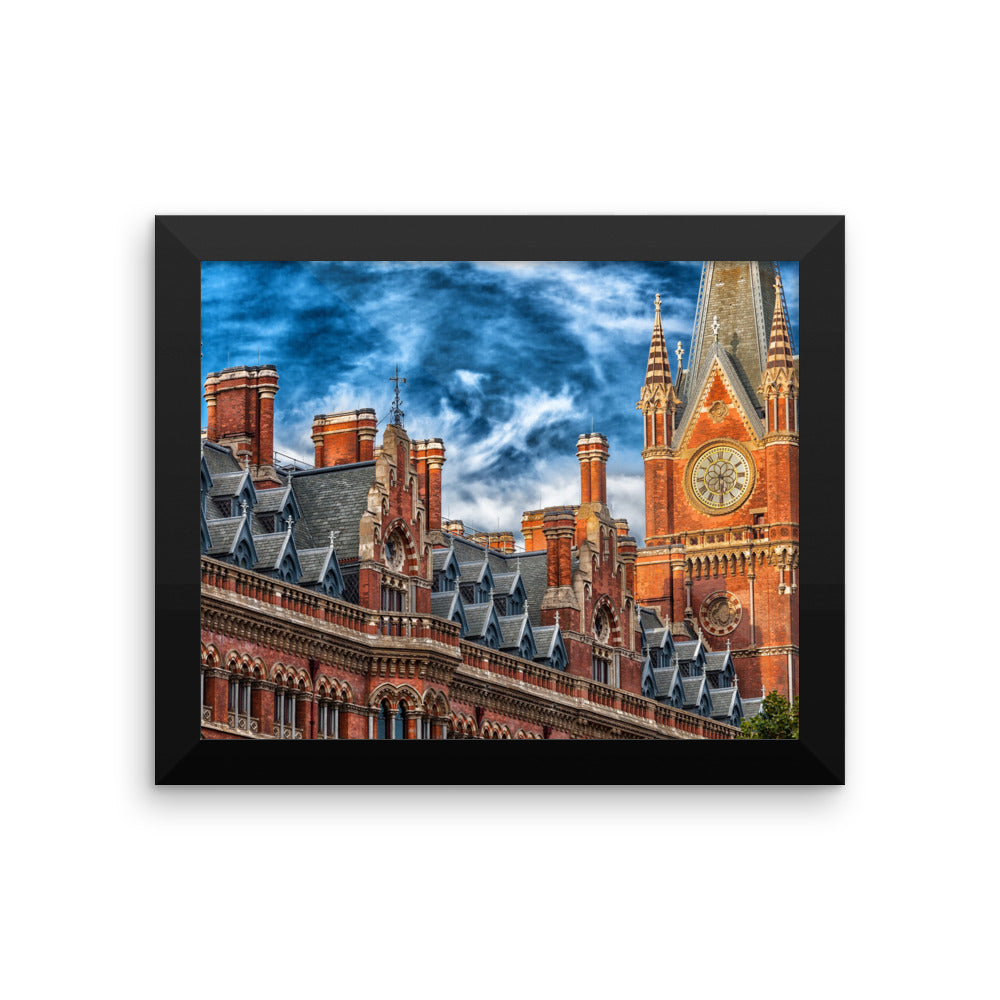 London Parliment Photo Art Framed poster