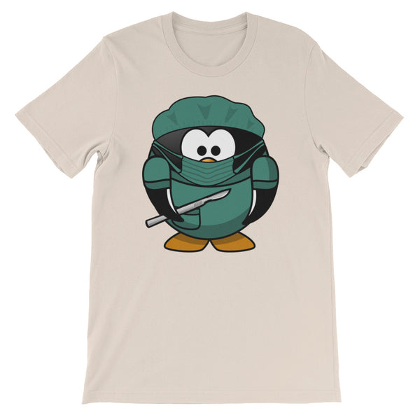 Doctor Penguin Short-Sleeve Unisex T-Shirt