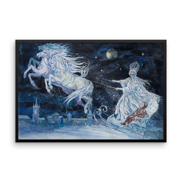 Snow Queen by Elena Ringo Framed Luster Photo Paper Poster
