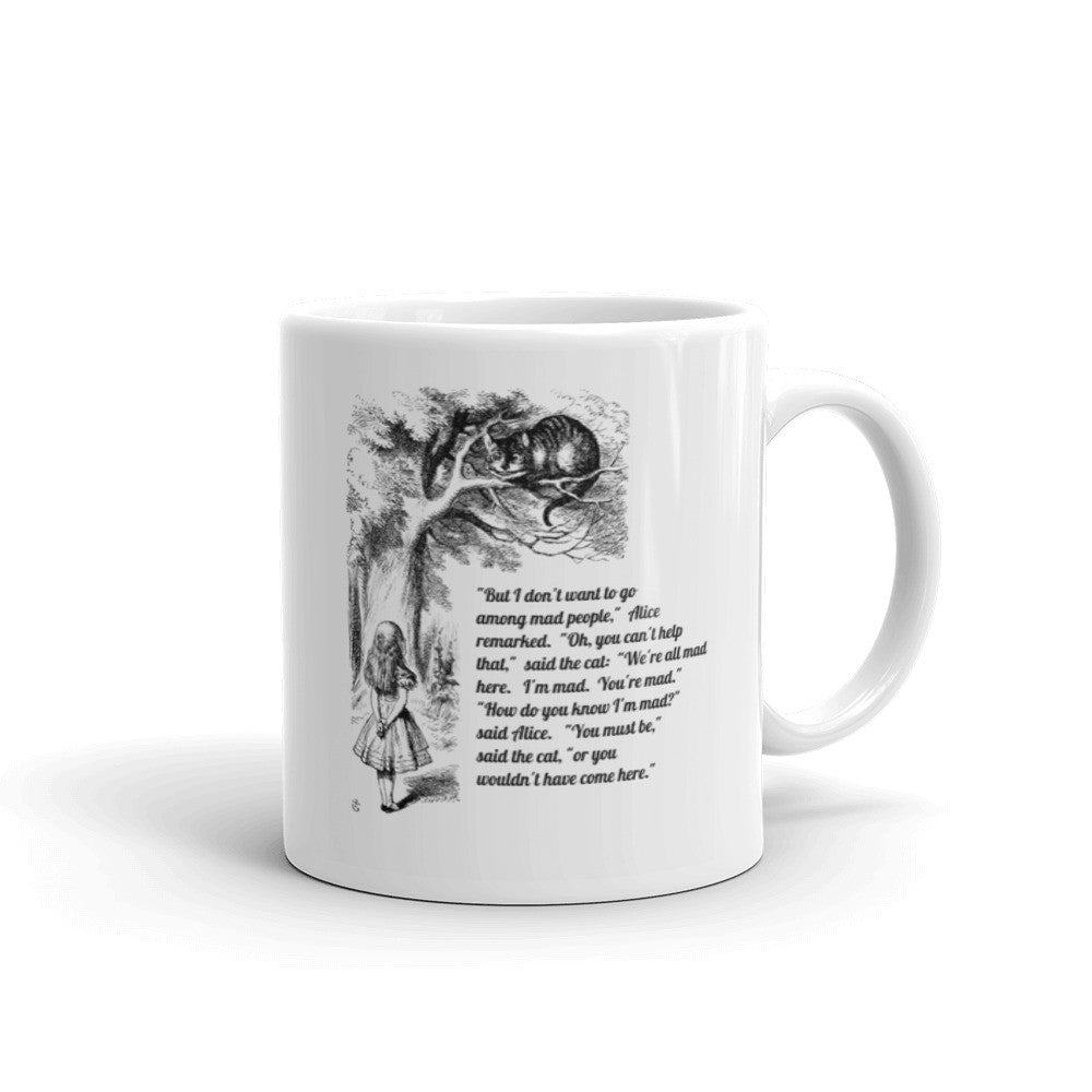 Alice in Wonderland Cheshire Cat Mug