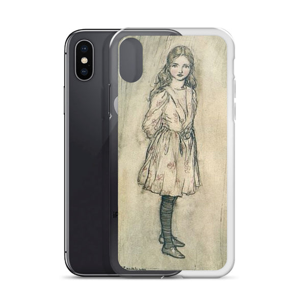 Arthur Rackham Alice in Wonderland iPhone Case, Arthur Rackham Art Phone Case