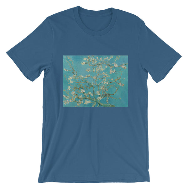 Van Gogh Art Almond Blossoms Short-Sleeve Unisex T-Shirt