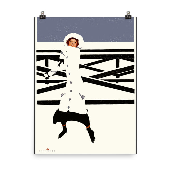 Coles Phillips Poster Vintage Collier's Magazine Cover
