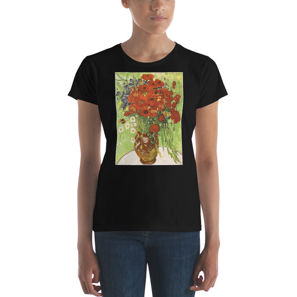 Vincent Van Gogh Poppies Women's short sleeve t-shirt