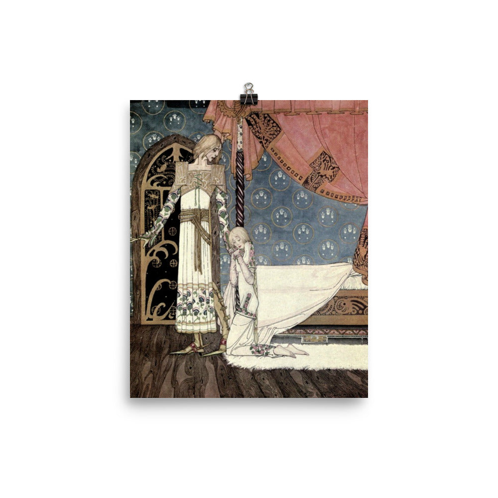 East of the Sun Art Print Art Print Poster Illustration by Kay Nielsen