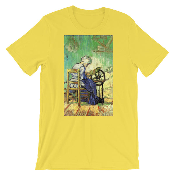 Vincent Van Gogh Woman Spinning Short-Sleeve Unisex T-Shirt