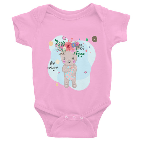 Boho Baby Bear Infant Bodysuit