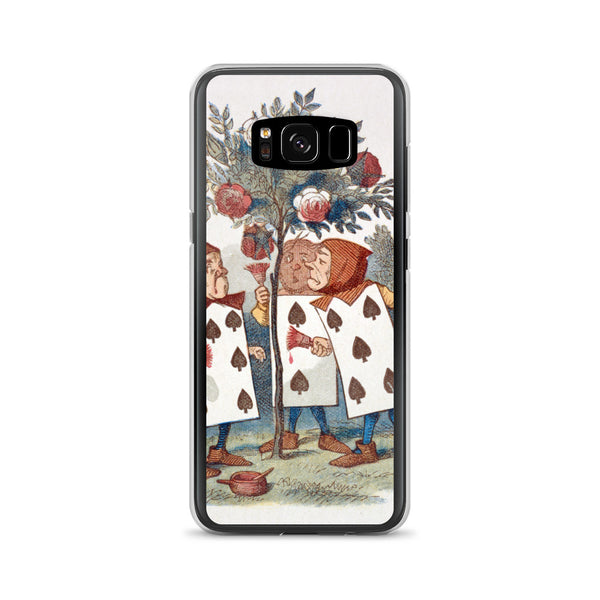 Alice in Wonderland Playing Cards Samsung Case