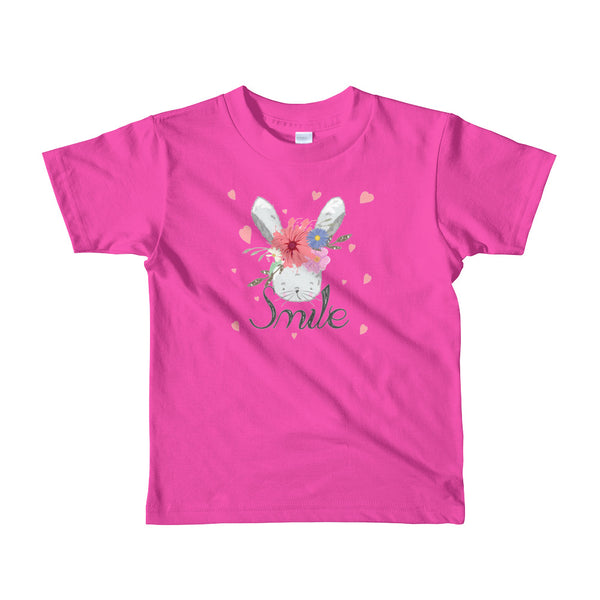 Boho Bunny Short Sleeve Kids t-shirt