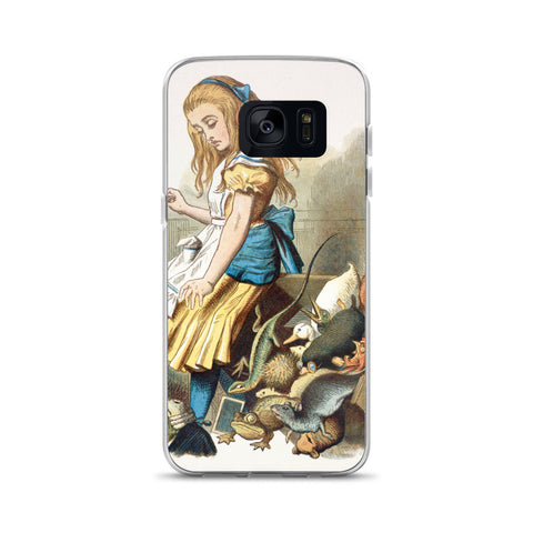 John Tenniel Alice in Wonderland Samsung Case