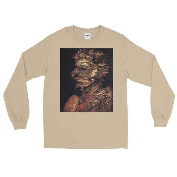 "Giuseppe Arcimboldo ""Four Elements Water"" Long Sleeve T-Shirt"