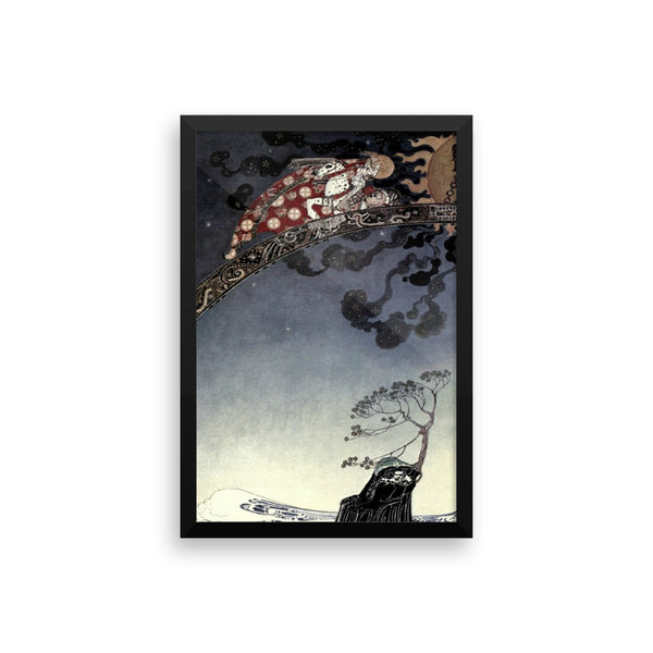 East of the Sun Art Print Art Print Framed Poster Illustration by Kay Nielsen