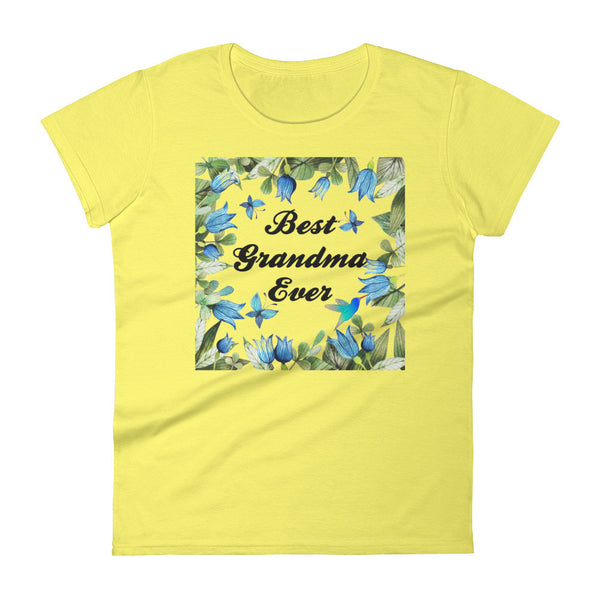 Best Grandma Ever Women's short sleeve Tee Shirt