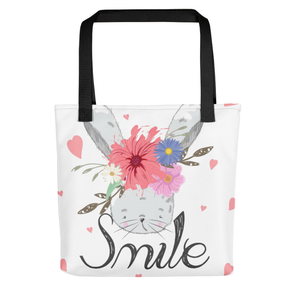 Boho Baby Bunny Tote bag, Infant Tote Bag