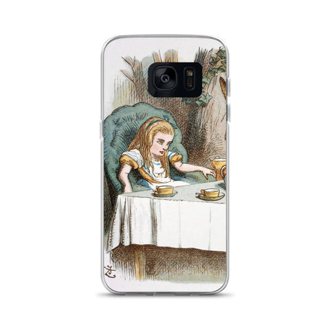 Alice in Wonderland Tea Party Samsung Case