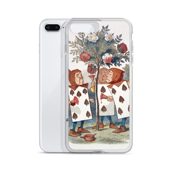 Alice in Wonderland Playing Cards iPhone Case
