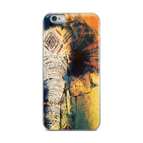 Zen Elephant iPhone Case