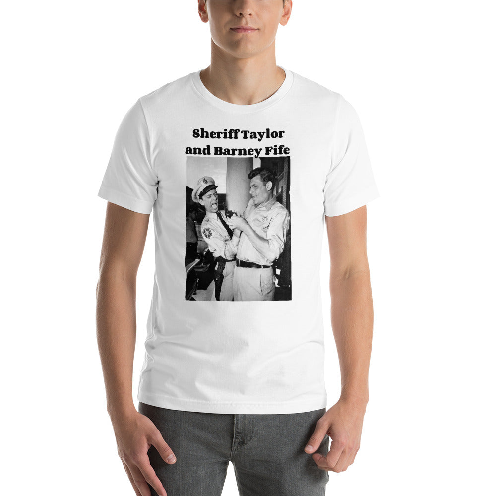 Andy Griffith Show Vintage TV Photo Short-Sleeve Unisex T-Shirt