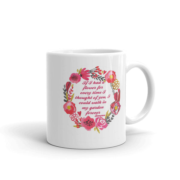 If I Had A Flower Mug made in the USA