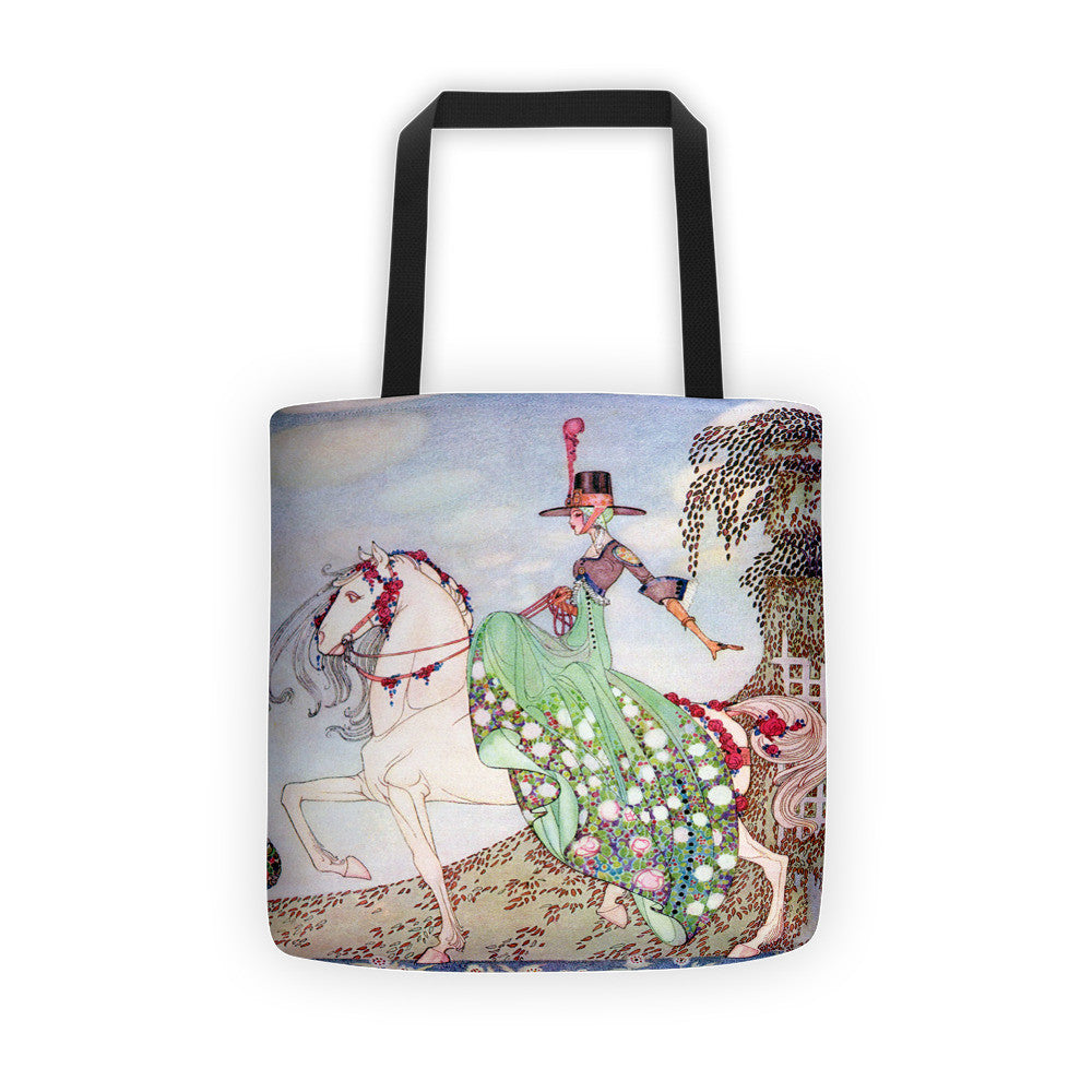 Kay Nielsen 12 Dancing Princesses Tote bag