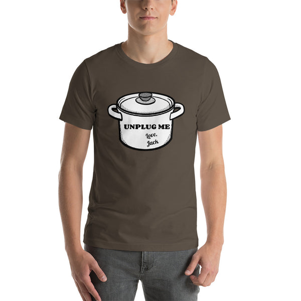 Unplug Me, Love Jack Short-Sleeve Unisex T-Shirt