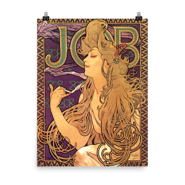 Alphonse Mucha Art Print Reproduction Poster