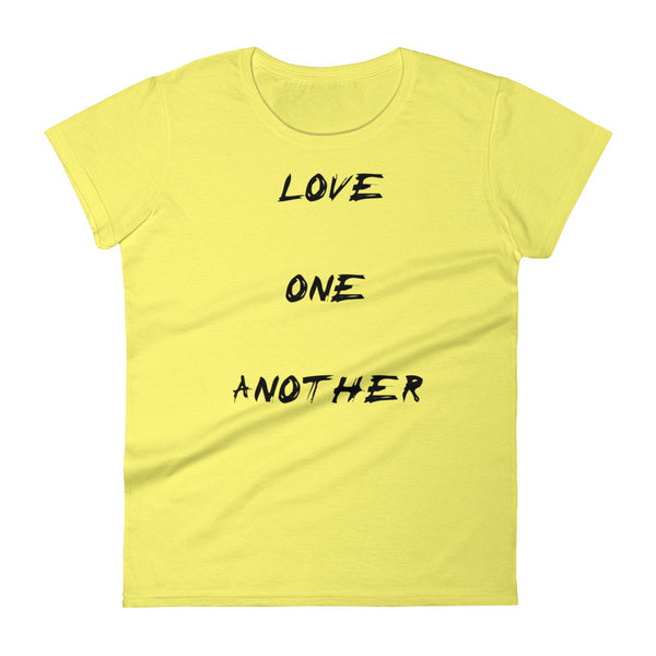 Love One Another Women's short sleeve t-shirt