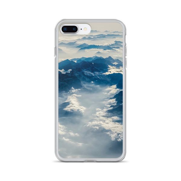 Clouds Over the Alps iPhone Case