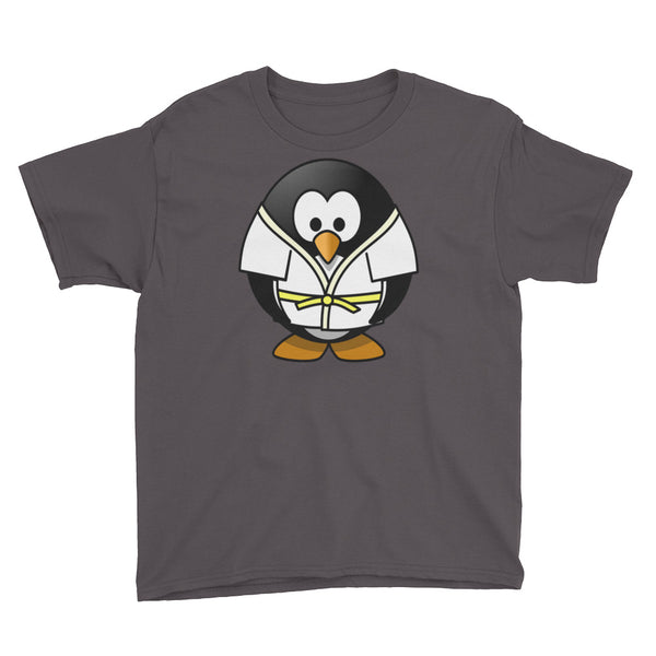 Martial Arts Penguin Youth Short Sleeve T-Shirt