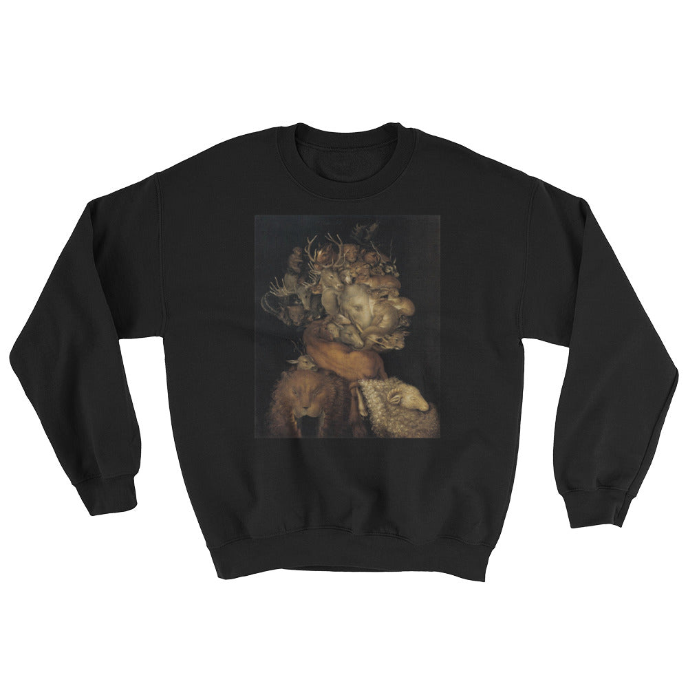 "Guseppe Arcimboldo ""Four Elements Earth"" Sweatshirt"