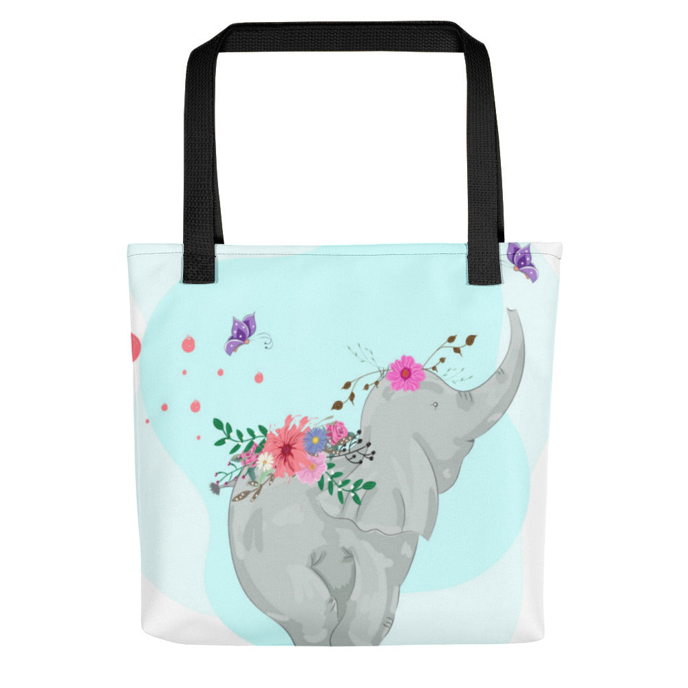 Boho Baby Elephant Tote bag, Infant Tote Bag