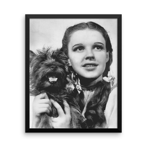 Wizard of Oz Dorothy Vintage Movie Framed Poster