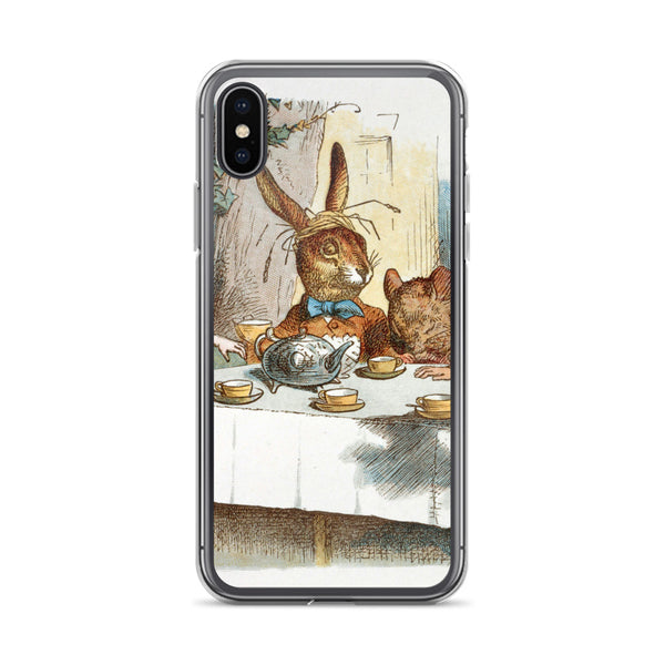 Alice in Wonderland March Hare iPhone Case